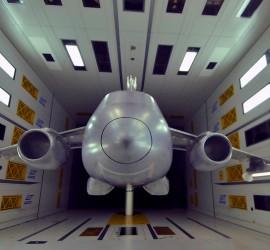 Windtunnel model